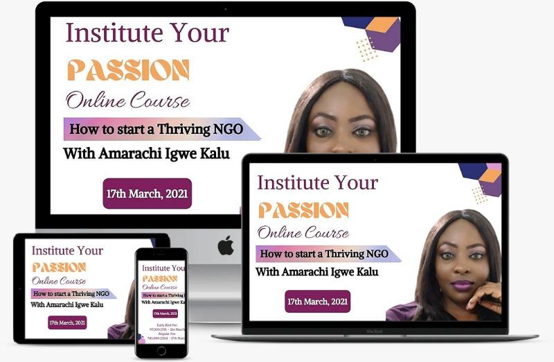 Institute Your Passion